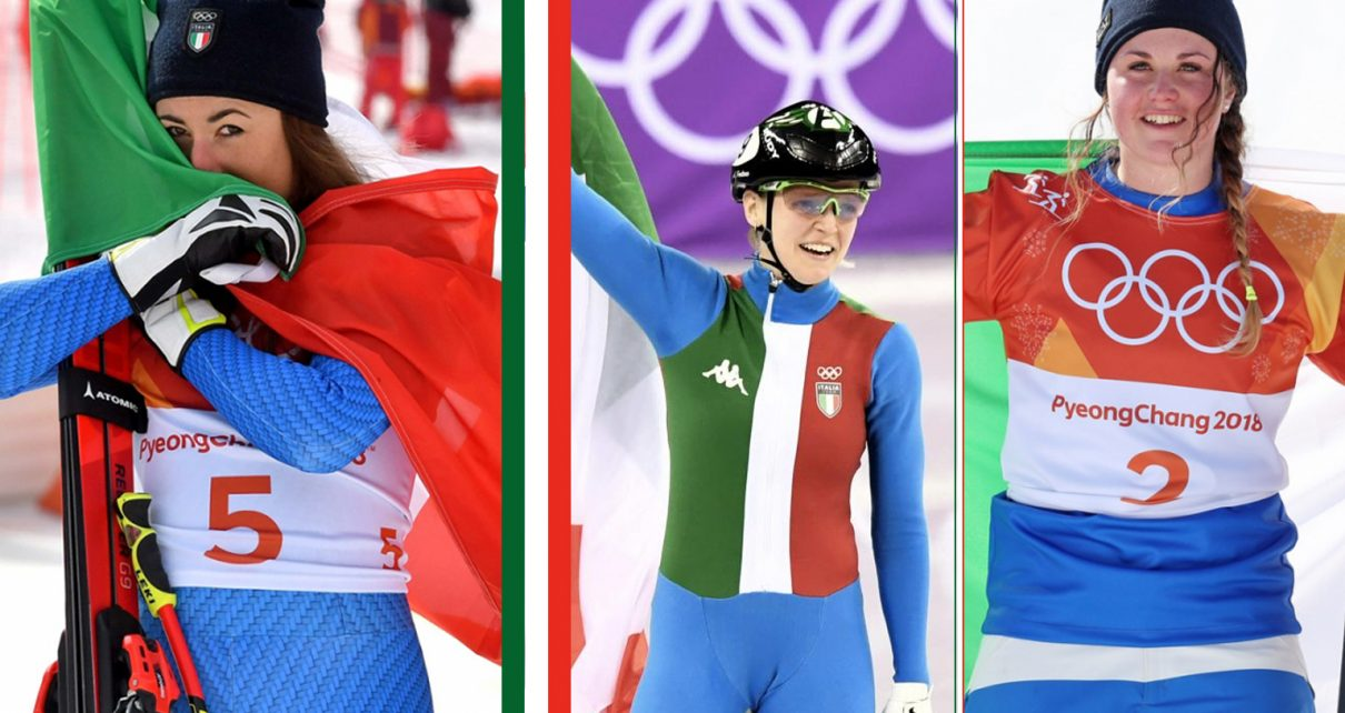 Giochi olimpici invernali, tre ragazze d'oro per l'Italia